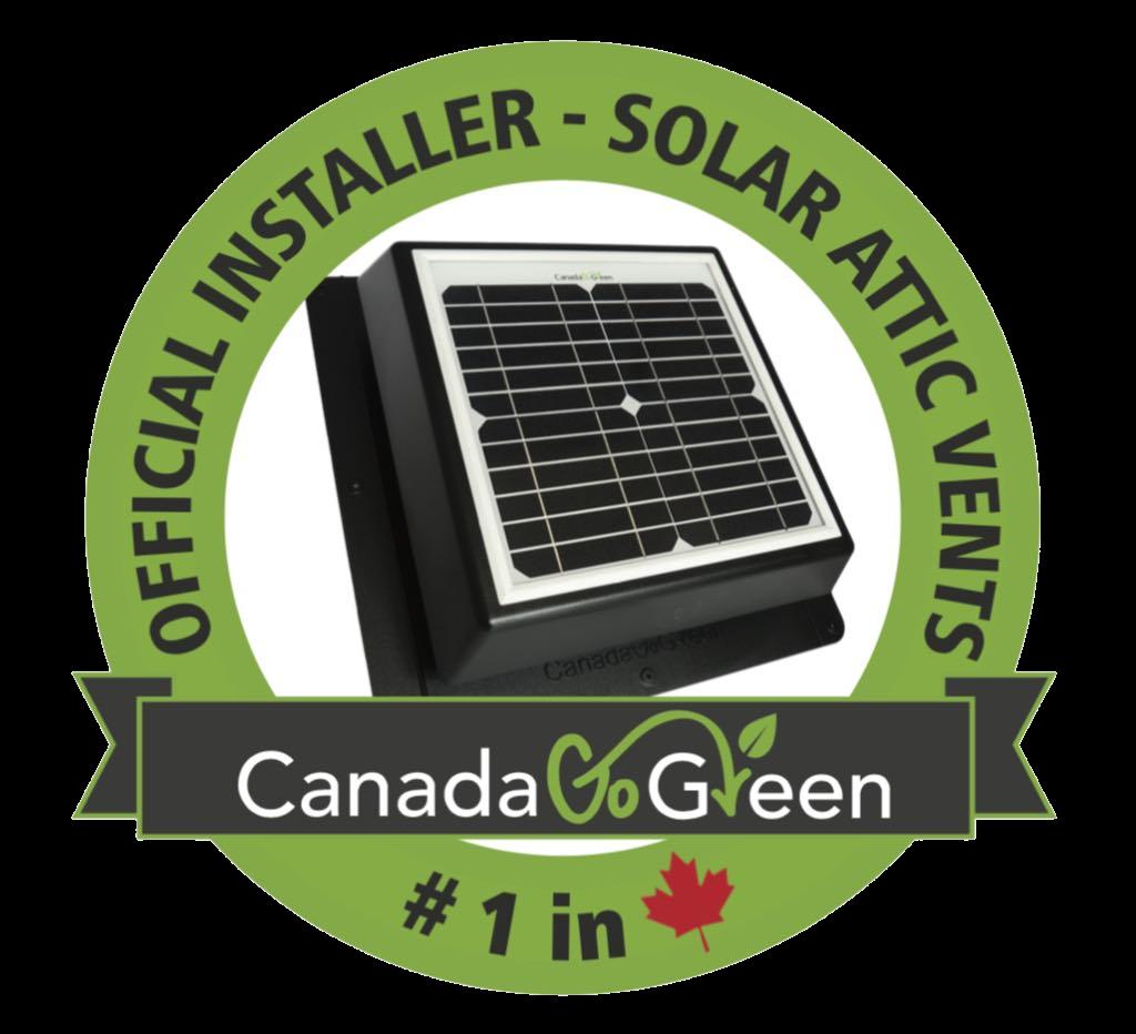 Solar Attic Vents Official Installer